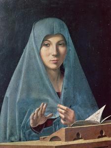 The Annunciation, 1474-75 by Antonello da Messina