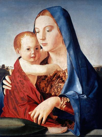 Antonello: Virgin & Child-Antonello da Messina-Giclee Print