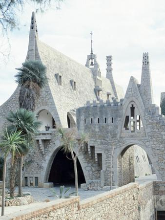 Guell Wine Cellar (1895-1897) by Antoni Gaudi