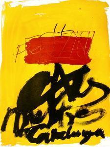 Expo 72 - Al mestres de Catalunya by Antoni Tapies