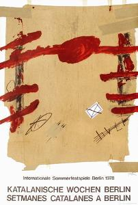 Expo 78 - Setmanes Catalanes a Berlin by Antoni Tapies