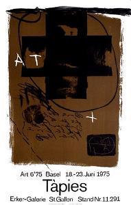 Expo Art Basel 6'75 by Antoni Tapies