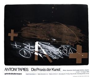 Expo Galerie Biedermann by Antoni Tapies