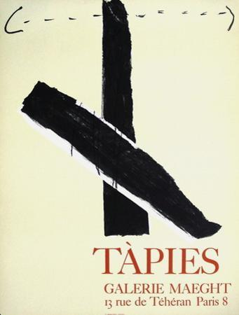 Expo Galerie Maeght 67 by Antoni Tapies