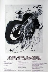 Expo Messiaen Fest by Antoni Tapies