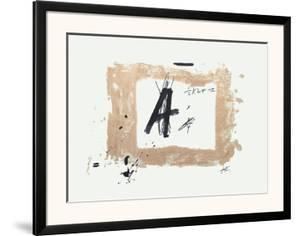 Lettre A by Antoni Tapies