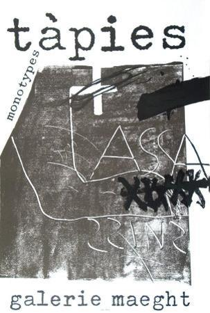 Monotypes, 1974 by Antoni Tapies