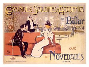 Grandes Salones y Academia de Billar by Antoni Utrillo