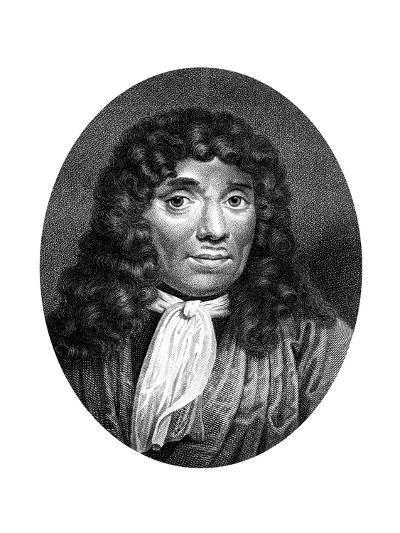 Antoni Van Leeuwenhoek, Dutch Pioneer of Microscopy-J Chapman-Giclee Print