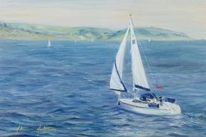 Sailing Home, 1999 by Antonia Myatt