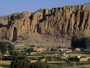 Bamiyan Valley, Showing the Large Buddha, Circa 5th Century, Afghanistan by Antonia Tozer