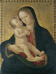 Madonna and Child, C.1480-85 by Antoniazzo Romano