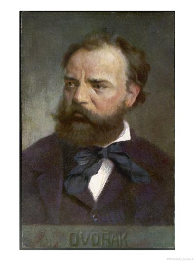 Antonin Leopold Dvorak Czech Musician- Eichhorn-Giclee Print