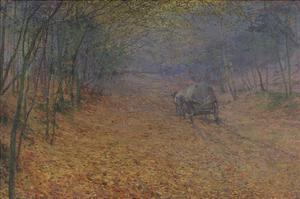 Im Herbstnebel, 1897 by Antonin Slavicek