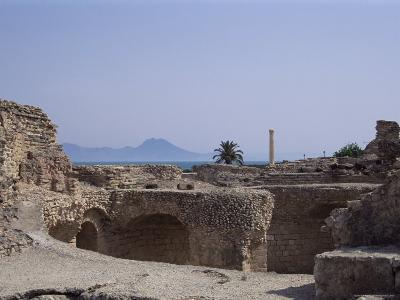 Antonine Baths, Carthage, Unesco World Heritage Site, Tunisia, North Africa, Africa-Nelly Boyd-Photographic Print