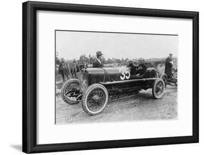 Antonio Ascari in an Alfa Romeo, Targa Florio Race, Sicily, 1922