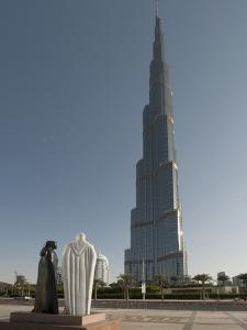 Khalifa, the Tallest Building in the World, Dubai, United Arab Emirates, Middle East by Antonio Busiello