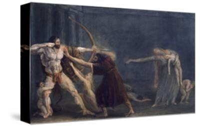 Hercules Firing Arrows at His Children