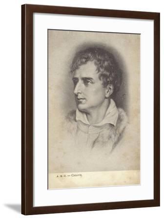 Antonio Canova, Italian Sculptor--Framed Giclee Print