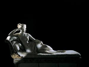 Paolina Borghese as Venus Victrix by Antonio Canova