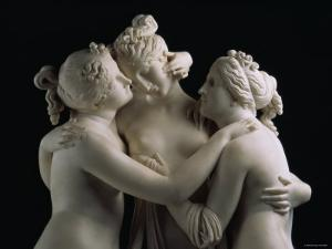 The Three Graces, c.1814-17 by Antonio Canova
