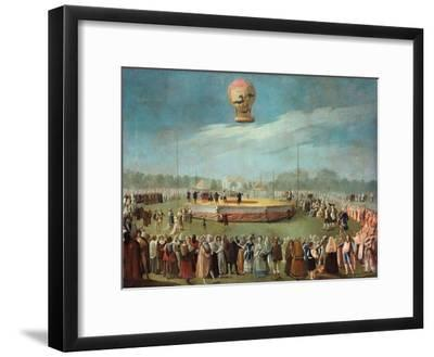 Ascent of a Balloon in the Presence of the Court of Charles IV, Ca. 1783