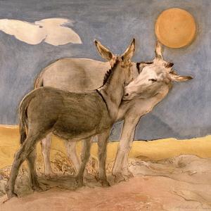 Donkeys, 1989 by Antonio Ciccone