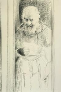 Padre Pio, 1988-89 by Antonio Ciccone