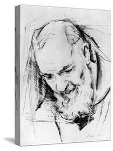 Study for a Padre Pio Monument, 1979-80 by Antonio Ciccone