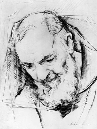 Study for a Padre Pio Monument, 1979-80