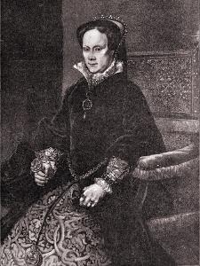 Mary Tudor by Antonio Ciseri