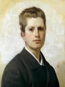 Portrait of Alfredo Boattini by Antonio Ciseri
