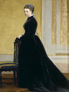 Sketch for Portrait of Lady by Antonio Ciseri