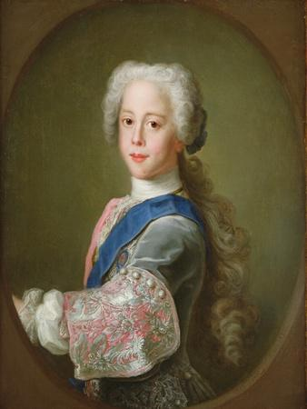 Portrait of Prince Henry Benedict Clement Stewart, 1732