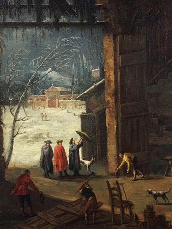 The Winter, the Arrival of a Nobleman at the Villa