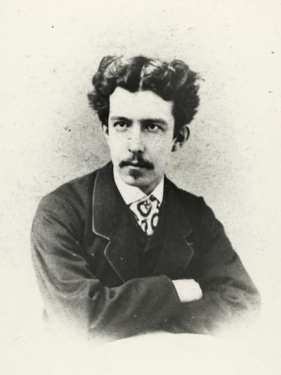 Antonio Fogazzaro (Vicenza 1842 -1911), Italian Writer and Poet--Giclee Print