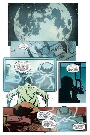 Zombies vs. Robots: No. 10 - Comic Page with Panels