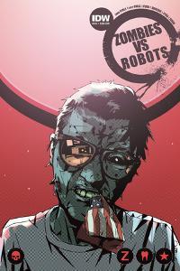 Zombies vs. Robots: No. 10 - Cover Art by Antonio Fuso