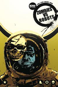Zombies vs. Robots: No. 8 - Cover Art by Antonio Fuso