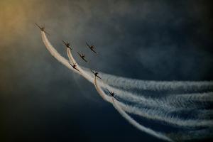 Air Show. by Antonio Grambone