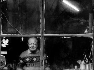 In His Old Laboratory by Antonio Grambone