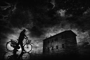 Tired of Pedaling... by Antonio Grambone