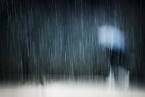 Under a Heavy Snowfall by Antonio Grambone