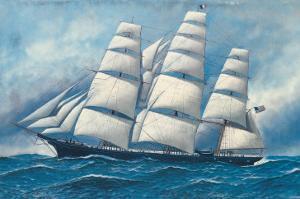 Glory of the Seas by Antonio Jacobsen