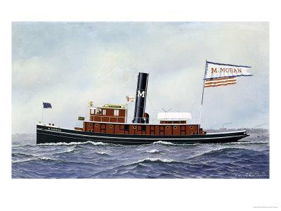 M. Moran Tug Boat, 1901