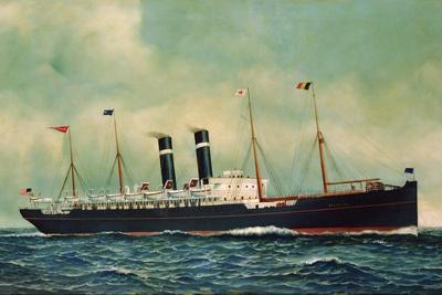 Steamer Kroonland, 1903