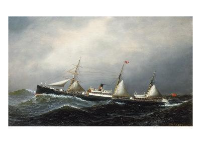The Steamship Devon, 1879