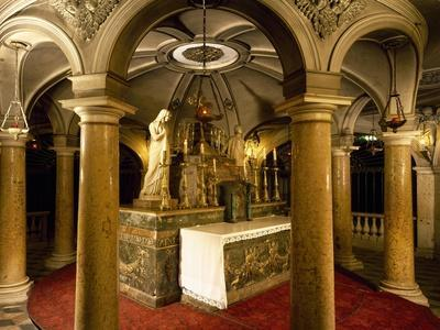 Crypt with Frescoes
