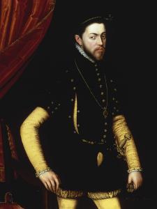 Portrait of King Philip II of Spain by Antonio Mor