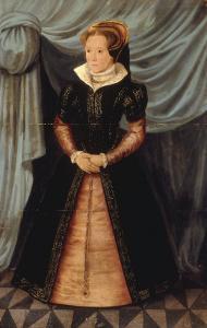 Portrait of Mary Tudor by Antonio More